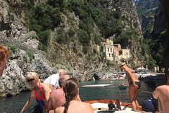Amalfi and Positano Semi-Private Boat Tour From Sorrento