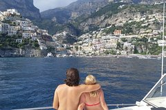 Premium Positano and Amalfi Boat Tour From Sorrento Max 7 People