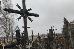 From Vilnius: Private Day Tour to Hill of Crosses