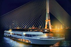 Bangkok White Orchid Dinner Cruise with Optional Transfer