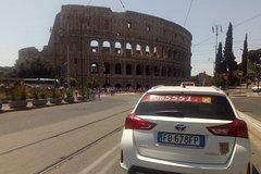 Rome taxi city tour