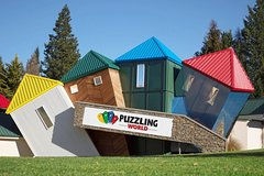 Imagen Combo Admission to Puzzling World