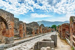 Pompeii & Sorrento Coast- Day Tour With Guide and Lunch from Naples