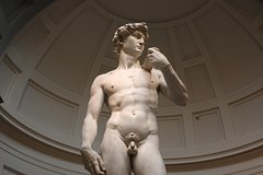 The David from Michelangelo.