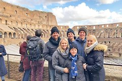 Family Friendly Rome Colosseum Tour with Forums Palatine & Skip-the-Lin