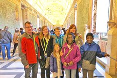Vatican for Children Tour with Skip-the-Line Access Sistine Chapel & Sa