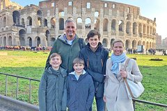 Rome in A Day Tour Including Vatican, Sistine Chapel, Colosseum Pantheon &a