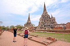 Ayutthaya Ancient City Tour from Bangkok with River Cruise and Lunch