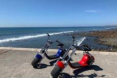Playa del Ingles Gran Canaria 2-hour Sunset Tour Harley- Davidson E-Chopper Gran Canaria South 41935P275