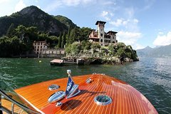 Riva Speedboat Private tour on Como Lake
