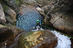 Canyoning discovery of Versoud en Vercors - Grenoble