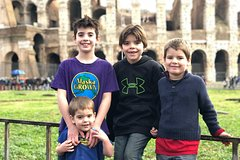 Ancient Rome and Colosseum for Kids Semi-Private Tour with Child-Friendly G