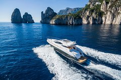 Capri Private Boat Tour from Sorrento, Positano or Naples - Yacht Klase 50