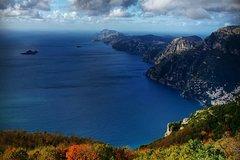 Trekking tour Salerno, Capri, Sentiero degli Dei and Valle delle Ferriere