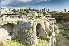 Herculaneum & Pompeii Experience with Wine Tasting - departure from Sorrento