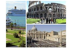 Shore Excursion from Civitavecchia to Rome: Colosseum & Vatican - Lunch included