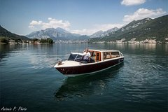 Villas and Waterfall of Nesso! Boat cruise on Lake Como - full day from Lecco