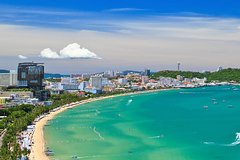 Pattaya Selfie City and Temple Tour by Songthaew (Local Taxi of Pattaya)