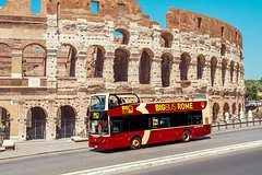 Hop-on Hop-off 2 Day pass with Colosseum Fast Track Entrance