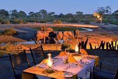 4 Night Elephant lodge Luxury Tented Chalets in Chobe, Botswana,