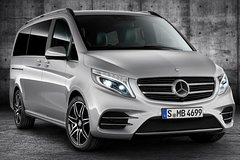 Imagen Paris Airport CDG Arrival Private Transfers to Paris City in Luxury Van