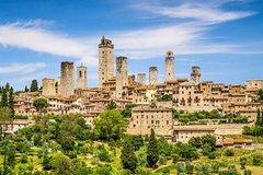 San Gimignano & Monteriggioni from Rome - full day private tour