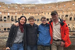 Walking Tour Of Coliseum, Forum and City Highlights including Trevi Fountain