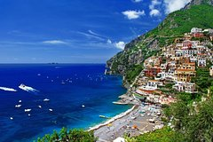 Shore Excursion from Naples dock to the Amalfi Coast. Delicious lunch inclu