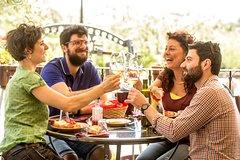 Organic Wine Tasting SUPERIOR with Lunch on Vesuvius close Pompeii