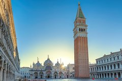 Start exploring Piazza San Marco and the Rialto Bridge + Vino e Cicchetti.