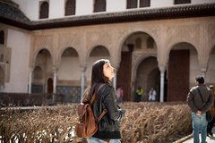 Imagen Alhambra Nasrid Palaces Tour and Traditional Meal Experience