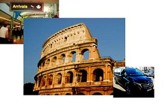 Free Arrival Private transfer from Rome Airport then Private Rome Full Day Tour Combo