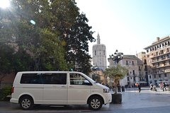 Imagen Transfer Valencia Airport to Downtown Minivan to 8 paxs