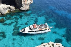 Gozo, Comino and Blue lagoon Cruise