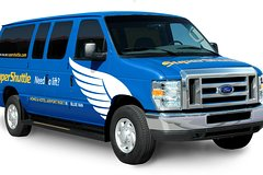 New York Arrival Skip-the-Line Shuttle Transfer: Airport to Hotel