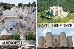 Alberobello and Castel del Monte Private Day Tour from Rome