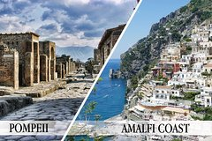 Pompeii, Positano and Amalfi Coast Private Day Tour from Rome