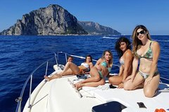 From Sorrento: Sorrento Coast Sailing and Capri Island Small Group Tour