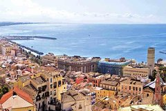 Transfer from Naples to Salerno with stop at Pompeii