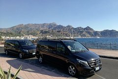Catania Airport to Taormina Luxury Private Transfer