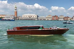 Private Transfer Venice Airport to Venice Hotels by Luxury Van and Water Ta