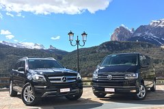 Transfer from Venice Marco Polo airport to Cortina dAmpezzo Dolomites