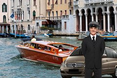 Venice Marco Polo Airport private departure transfer (Includes Water Taxi)