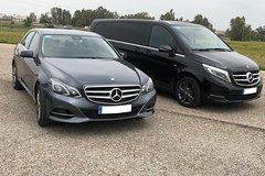 Imagen Transfer Airport Hotel in Seville with executive cars minivans and minibuses