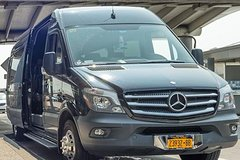 Luxury Sprinter Private Departure Transfer: Manhattan Hotels and NYC Airports