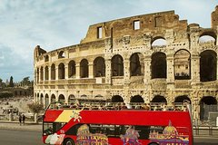 Skip-The-Line Colosseum Small Group Guided Tour & Panoramic Bus Pass