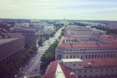 Washington DC District of Columbia White House and Pennsylvania Avenue Architecture Tour 33458P5