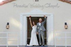 Las Vegas Wedding at Paradise Wedding Chapel