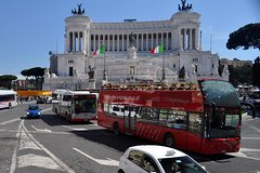 24 or 48hr Rome Hop-on Hop-off Tour with Skip-the-line Colosseum