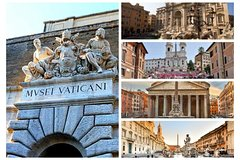Private Vatican Tour & Top Highlights of Rome - Lunch & Transfers Included!